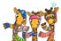 Picture of Joc educativ Girafe cu Fular GIRAFFES IN SCARVES