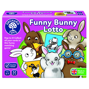 Picture of Joc educativ Iepurasul Amuzant FUNNY BUNNY LOTTO