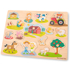 Picture of Puzzle lemn Ferma 17 piese NEW