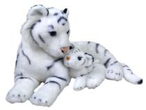 Imaginea Mama si Puiul - Tigru Alb